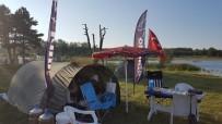 BALIK TUTMAK - Pelitözü Gölet Çevresinde Artık İzinsiz Çadır Kurmak Yasak