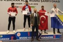 FILDIŞI SAHILI - Wushu Kung Fu Şampiyonası'ndan Bartın Üniversitesine Altın Madalya