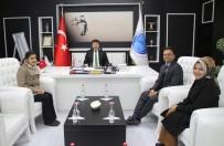 YEDAM'dan Rektör Karacoşkun'a 'Bağımlılık' Ziyareti