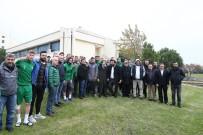 İBRAHIM YAZıCı - Bursaspor Taraftarları Takımına Destek İçin Yürüyecek