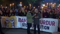 MÜSLÜMAN KARDEŞLER - İstanbul'da Mısır Cezaevlerindeki Koşullara Dikkati Çekmek İçin Yürüyüş Yapıldı