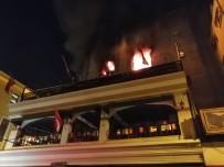 OKSİJEN TÜPÜ - Kadıköy De 5 Katlı Binada Korkutan Yangın