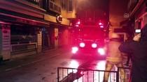 Kadıköy'de İş Yeri Yangını