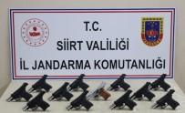 YUNUSLAR - Siirt'te Silah Kaçakçılarına Darbe