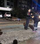 Alanya'da 2 Motosiklet Kafa Kafaya Çarpıştı Açıklaması 1 Ölü