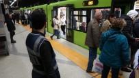 METRO İSTASYONU - Bursa Polisinden Metro İstasyonlarında Denetim