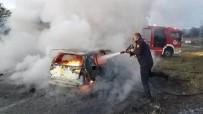 POLİS İMDAT - Eşinin Aracını Yakıp Videosunu Çekip Ona Gönderdi