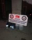 SAHTE İÇKİ - Gaziantep'te 95 Litre Daha Sahte Alkol Yakalandı
