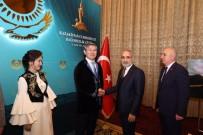 BAĞIMSIZLIK GÜNÜ - Topçu, Kazakistan'ın Bağımsızlık Günü Resepsiyonuna Katıldı