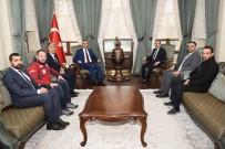 Vali Soytürk Kızılay Genel Başkan Vekili İle Bir Araya Geldi