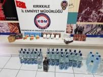 SAHTE İÇKİ - Yılbaşı Öncesi Sahte İçki Operasyonu Açıklaması 4 Gözaltı