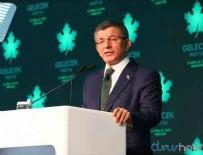 AHMET DAVUTOĞLU - Ahmet Davutoğlu partisini tanıttı