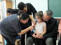Aşı Uygulaması Yapılan Okula Ziyaret