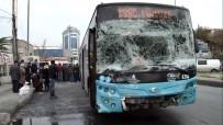 Gaziosmanpaşa'da Halk Otobüsü Kaza Yaptı Açıklaması 4 Yaralı