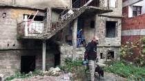 Giresun'da Metruk Binalarda Narkotik Uygulaması Yapıldı
