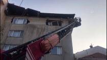 GÜNCELLEME 3-Şişli'de Binanın Çatısında Çökme Meydana Geldi