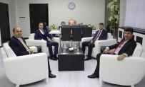 MUSTAFA DOĞAN - Kaymakamlar Rektör Karacoşkun'la Bir Araya Geldiler