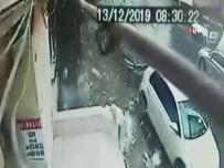 Şişli'de 6 Katlı Binanın Çatı Katının Çökme Anı Kamerada