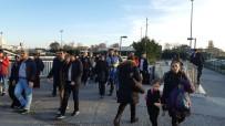METRO İSTASYONU - Aksaray- Yenikapı Arasında Metro Raydan Çıktı İddiası