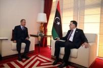 KATAR EMIRI - Bakan Akar'dan Libya mutabakatı görüşmesi