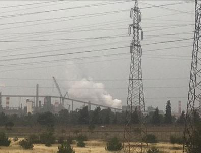 Hatay'da demir çelik fabrikasında yangın
