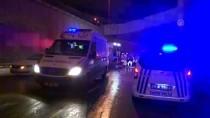 TOPKAPı - İstanbul'da Otomobil Alt Geçide Düştü Açıklaması 1 Yaralı