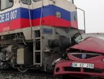 YÜK TRENİ - Kars'ta tren kazası: 3 ölü, 3 yaralı