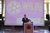 SULTAN SÜLEYMAN - Mevlânâ Şiir Yarışması'nda Ödüller Sahiplerini Buldu