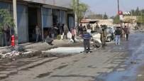 BOMBALI ARAÇ - Tel Abyad'da Siviller Dükkan Ve Evlerini Tamir Etti