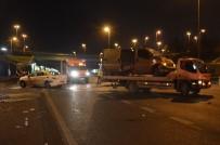 E5 KARAYOLU - 168 Promil Alkollü Sürücü Kaza Yaptı Açıklaması 2 Kişi Yaralandı