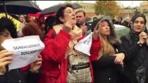 Doğa Kolejinin Devriyle İlgili Açıklamanın Ertelenmesi Veliler Tarafından Protesto Edildi