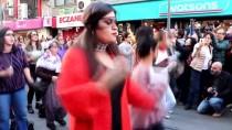 KADıN HAKLARı  - Şilili Kadınların Danslı Protestosuna İzmir'den Destek