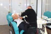 ESKIHISAR - 10 Mahallede 163 Kişiye Kuaför Hizmeti