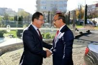 Başkan Köken'e Ordu Valisi Ve Belediye Başkanından Ziyaret