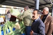 Bolu'da, İhtiyaç Sahipleri İçin Halk Pazarında Yardım Tezgahı Kuruldu