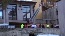 Cıbıltepe Kayak Merkezi'nde Otel Yangını