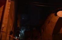 Elektrikli Sobadan Çıkan Yangın Evi Küle Çevirdi