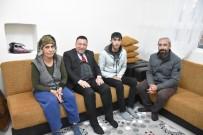 Harabe Evde Yaşayan Ailenin Feryadını Başkan Beyoğlu Duydu
