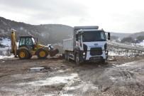 İnönü'de Eski Çöp Depolama Alanı Ağaçlandırılıyor