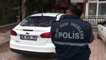 Kahramanmaraş'ta Polis Memurunun Otomobiline 'Yorgun Mermi' İsabet Etti