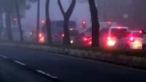 YAKIN TAKİP - Kahramanmaraş'ta Yoğun Sis Etkili Oluyor