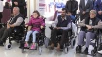 Kilis'te 75 Engelliye Tekerlekli Sandalye Verildi