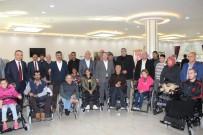 Kilis'te Engellilere Tekerlekli Sandalye Dağıtıldı