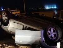 Otomobil köprünün beton blokuna çarptı! 3 ölü, 2 yaralı