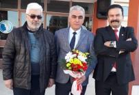 Milli Eğitim Müdürlüğü Görevine Çiçeklerle Uğurlandı