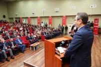 DERS PROGRAMI - Milli Mücadele'nin 100. Yılında Dünden Bugüne 'Türk Sporu Çalıştayı' Yapıldı