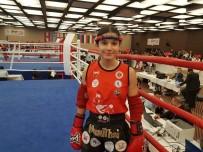 Muay Thai Sporcusu Barut, 48 Kiloda   Avrupa Şampiyonu Oldu