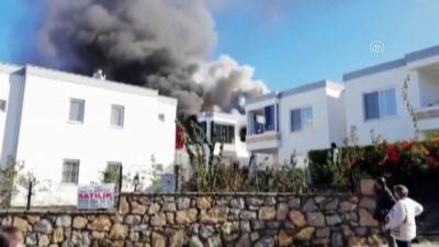 Muğla'da Evde Çıkan Yangın Söndürüldü