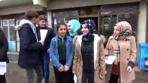 Öğrenciler, Köyleri Gezip 'Brusella'yı Anlattı