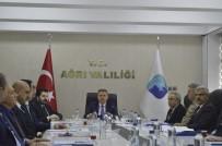 SÜLEYMAN ELBAN - Ağrı'da Kadına Yönelik Şiddetle Mücadele Koordinasyon Planı Toplantısı Yapıldı